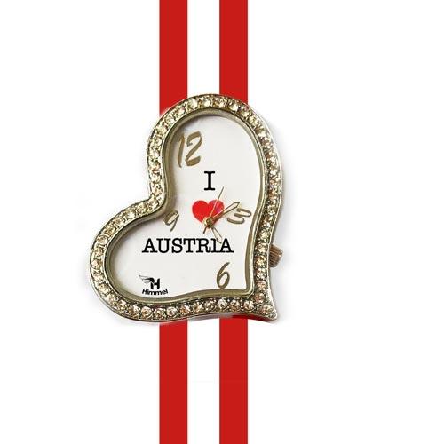 austria heart shape watch
