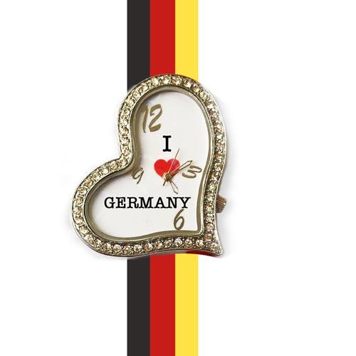 germany heart shape watch