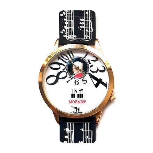 mozart watch black