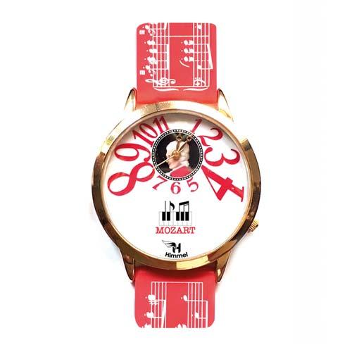 Mozart watch red